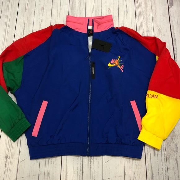 Nike Air Jordan Jumpman FullZip Windbreaker Jacket